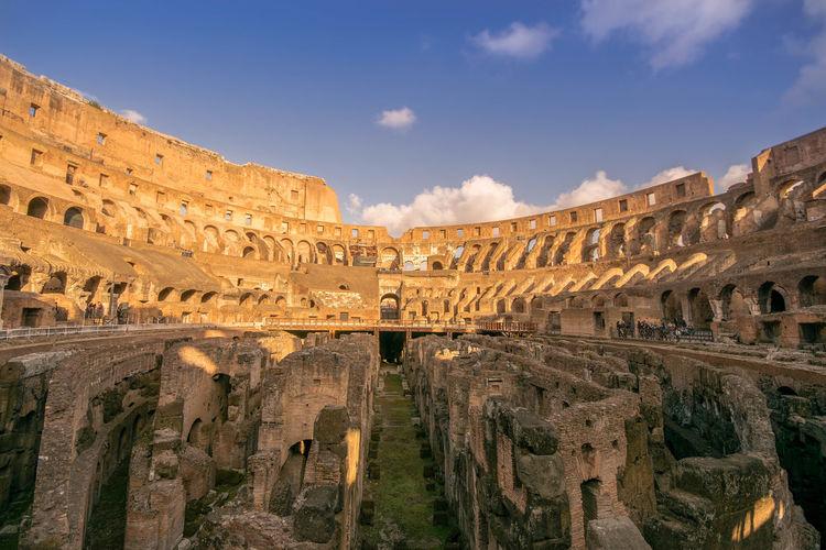 Ancient Ancient Civilization Architecture Built Structure Cloud - Sky Coliseum Day History Italy Old Ruin Outdoors Rome Tourism Travel Travel Destinations