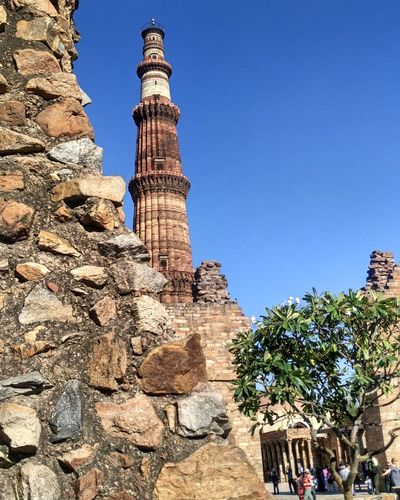 Architecture Qutub Minar India India Diaries My Country Historic Place PhonePhotography Mi4i