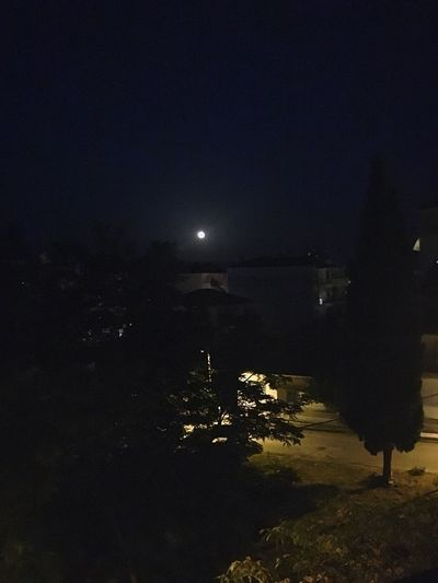 Full Moon Kilkis Viewfrombalcony Relaxing Summer