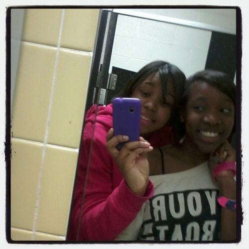 We Thought We Were So Cute! Me And Le' Bestfrann!