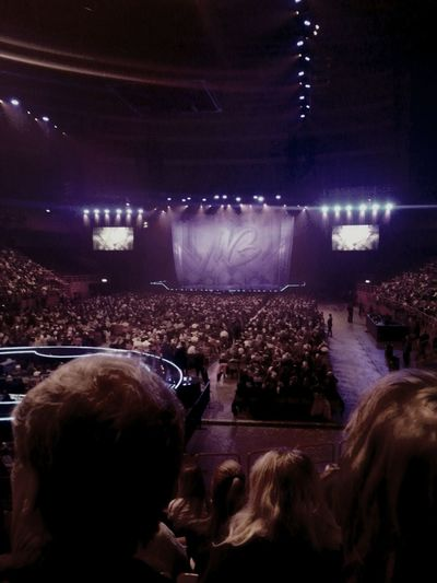 Waiting for Micheal Buble to start his Show at Ericsson Globe!