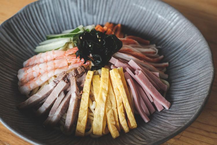 Close up japanese food called ramen.