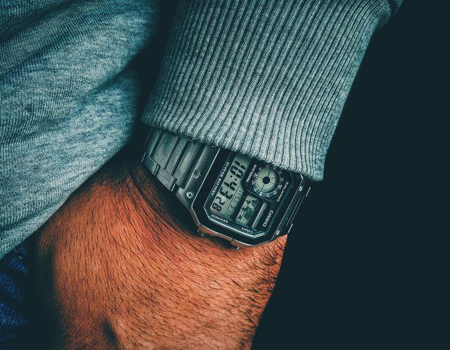 casio wristshot