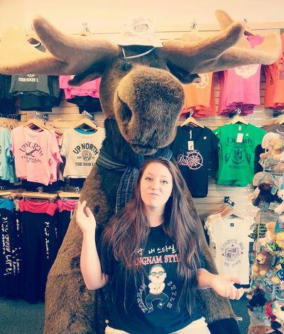Best moose ever (: Moose Funny Girl Teen