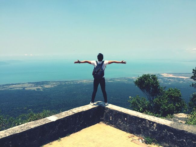 Holiday POV Bokor Bokor Mountain Freedom Traveling Enjoy My Life  On Top Of The World Moutain Top Cambodia