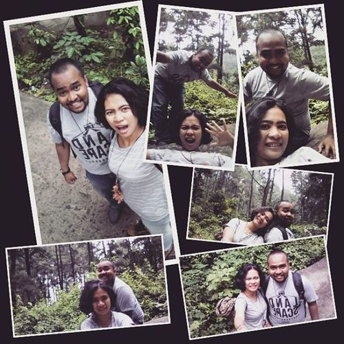 Spending time with my future.. Love u dear Latepost GunungPancar Qualitytime Love Couple Forest Jungle Nature INDONESIA Sentul