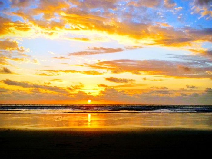 Sun Beauty Nature On Your Doorstep Nature Nature_collection Nature Photography Naturelover Lifeisbeautiful Sunset_collection Reflection Water Seascape Romantic Sky Dramatic Sky Moody Sky Cloudscape Atmospheric Mood Majestic Calm