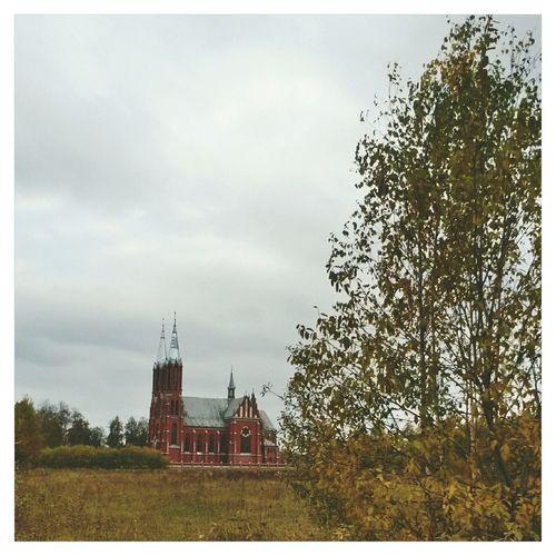 Latvia латвия краски осени Autumn Colors осень Fall Autumn EyeEm VSCO Church