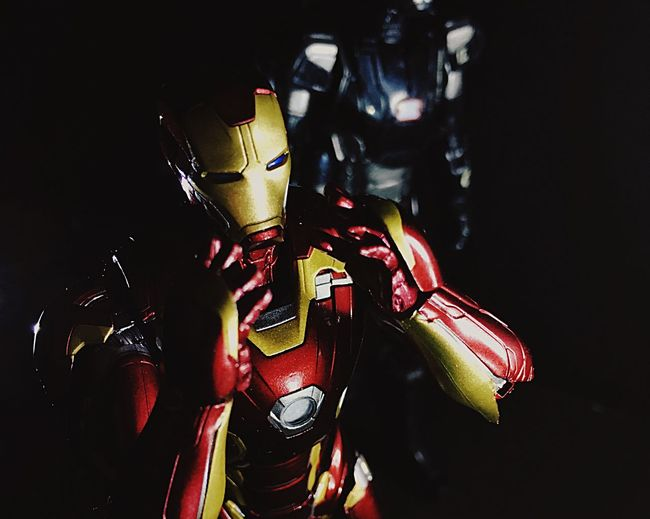 Showcase April Ironman Toy SHfiguarts Shffiguarts Civil War MarVal Hk HongKong Maravl Underoos