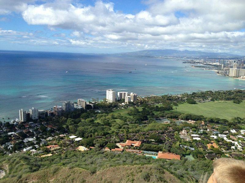 Aloha World Hello WorldOn A Hike at the the top of Diamond Head Enjoying The Sun Enjoying Life Enjoying The Sights Enjoying The View