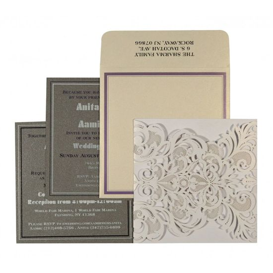 The beauteous designs of Designer Wedding Cards, Paisely are sure to offer you a delightful treat. The ultimate selection of white color is certainly the best fit for the wedding card. The card has been constructed out of fine shimmer paper that assures a great quality and look. https://www.a2zweddingcards.com/card-detail/AD-1592 Designer Invitations Designer Wedding Cards, Designer Wedding Invitations Designer Wedding Invitations Online Wedding Cards Wedding Invitations
