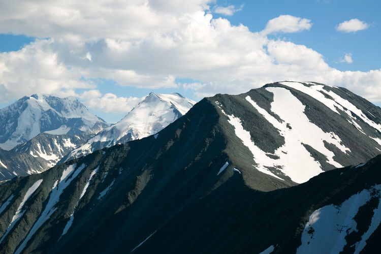 High mountains landscape, breathtaking beauty of the mountains.
