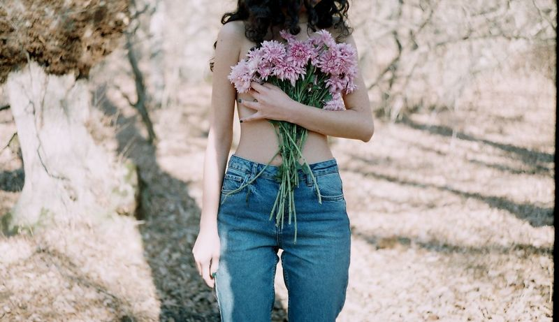 35mm Film Adult Adults Only Analog Analogue Photography Day EyeEmNewHere Film Film Photography Flower Flowers Forest Human Body Part Human Hand Nature Nüde Art. One Person Only Women Outdoors People Teenager Welcome Weekly Women Around The World The Portraitist - 2017 EyeEm Awards Breathing Space