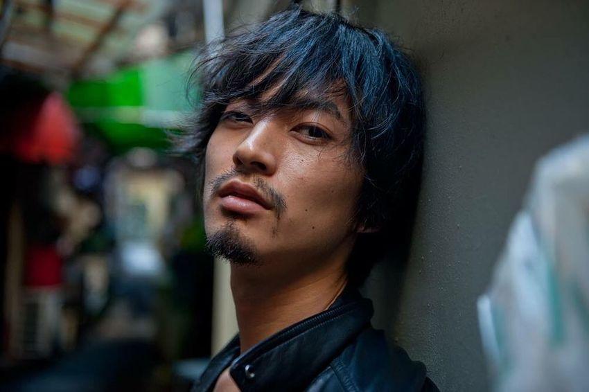 ゴールデン街photo by田尻光隆 Model Portrait