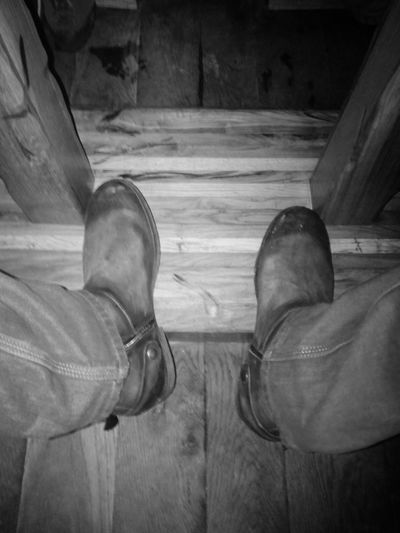 Boots Taking Photos My New Boots Blackandwhite