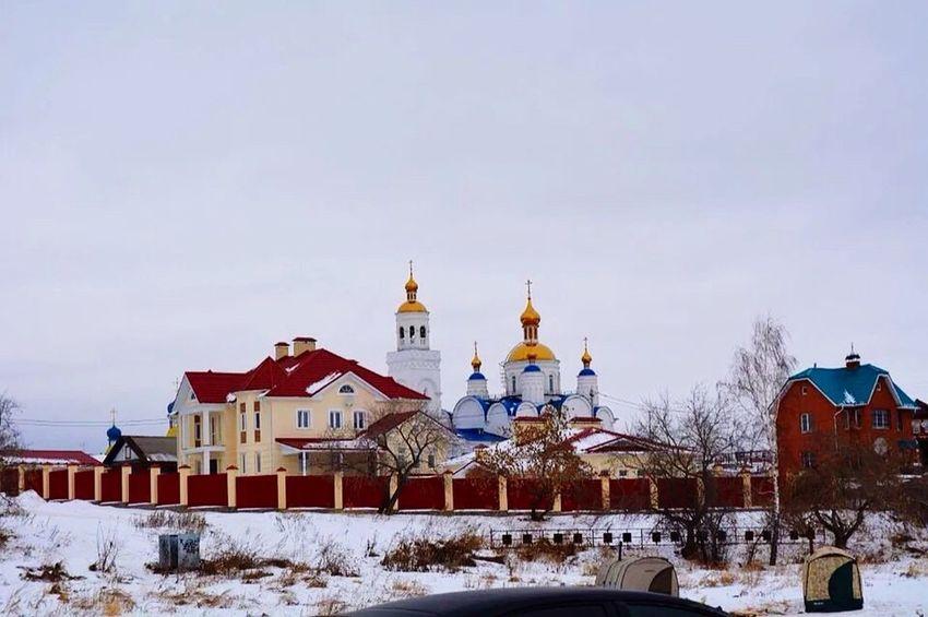 Winter Snow Season  Architecture Cold Temperature Religion Day Sky Nature
