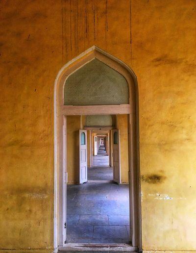 ❤️❤️ Architecture Door Built Structure Indoors  Doorway Arch History Corridor Entry Day No People