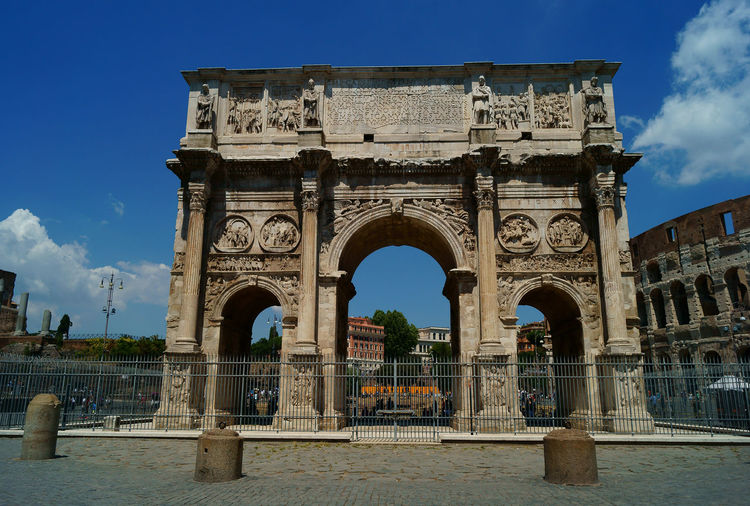 Arch Architecture Archival Arco Di Costantino Arco Di Trionfo City Coliseum Structure Colosseo Cultures Day Eternal City History No People Old City Building Old Roman Bridge Old Roman Bulding Old Roman Way Outdoors Roma Italia Rome Italy Sky Trastevere Rome Trasteverebynight Triumphal Arch War