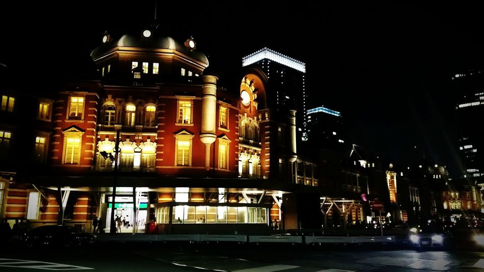 Night View Tokyo Station