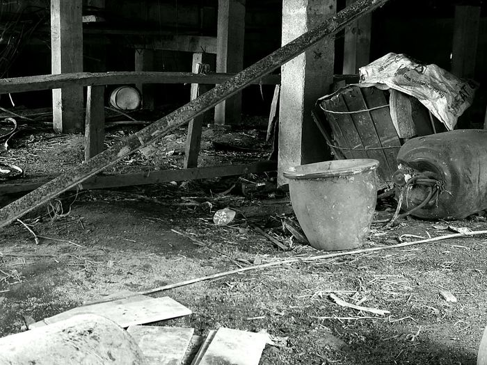 No People Outdoors Watermill Day Wasted Time Out From Society Leisure Activity Blackandwhite Photography Black & White Kampunglife Kelantan Malaysia Kampunghalaman Wasted Art Rusted
