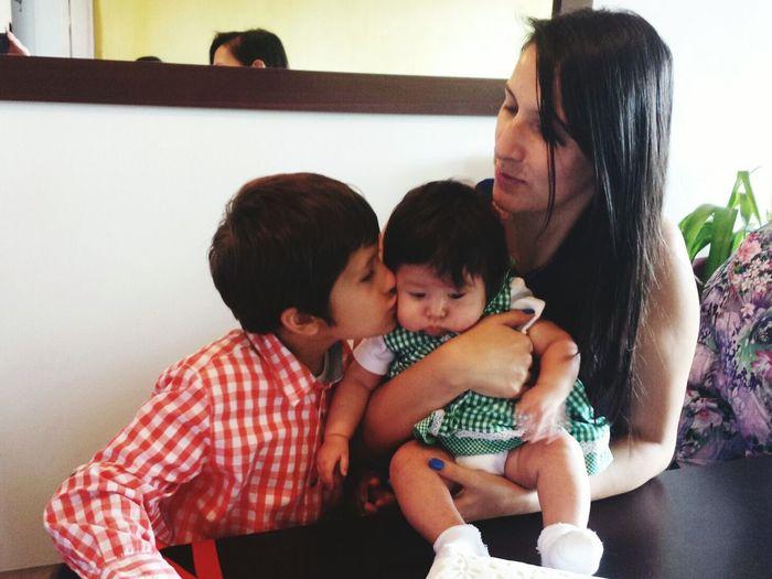 Los dos amores de mi vida Luciana & Samuel ♡ Los Amo !!