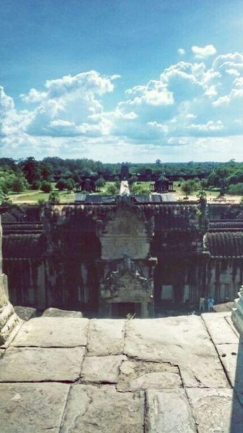 Cambodia Ruins Architecture