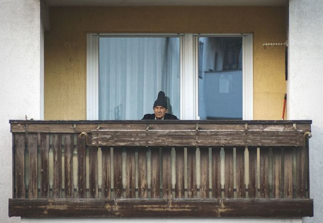 hello Neighbor what's going on tonite? Suspicious Older Man Looking and sitting on his Balcony . From My Doorstep Urban LifestyleLooking To The Other Side What I Value Picturing Individuality Gangsters Paradise Learn & Shoot: Working To A Brief Here Belongs To Me