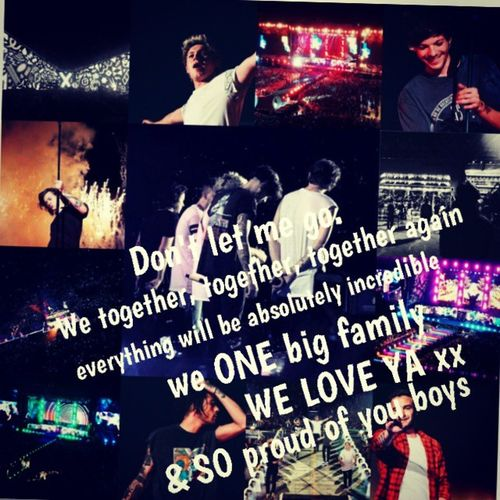 @onedirection!!! You save us all this 5 cosmically years & MOST BIGGEST THANK YOU!! but now our turn. PLEASE stay with us forever always ... & believe us everything will be absolutely incredible, we soooooooo strongly :) We love you very very very much!!! & soooooo proud of you all!!!! WeWillAlwaysBeHereForOurBoys1D