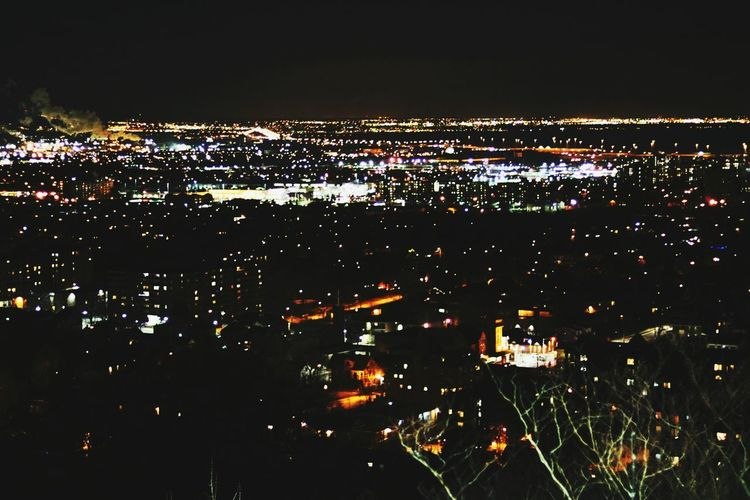 My Hometown Hamilton Ontario Ontario, Canada Canada City Cityscape Illuminated Night Aerial View City No People City View  City Life HamOnt Building Exterior Architecture