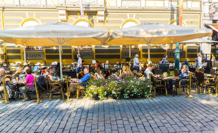 Oslo, Norway outdoor cafe Adult Cafe Day Flower Outdoors People Socializing Streetphotography