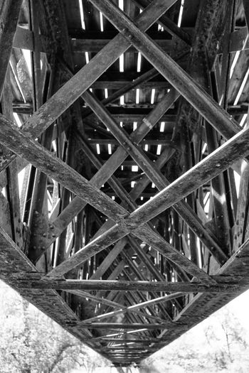Architectural Feature Architecture Black And White Bridge - Man Made Structure Built Structure Engineering No People Steel Structure  Technology I Can't Live Without