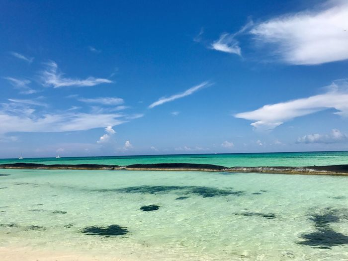 Hoy … cumplo 5 años que llegué a Cancun !! 😜 🌴 ☀️ Ivangallery 📷 AmoViajar Photography Sea Blue Beach Sky Clouds Lovetotravel Playa Landscape Nature Amazing Amazing View Breathing Space Caribbean Iphone7 EyeEmNewHere No People The Week On EyeEm