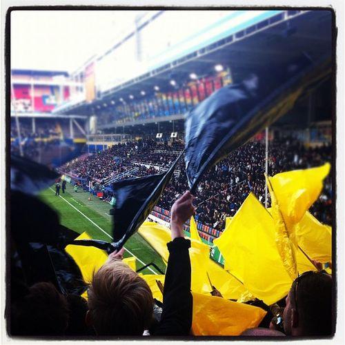 AIK Gnaget Allm änaidritklubbenK ärlekfollowme follow instadaily instamood instagood sweden solnaråsundatifo hjärtat slår för aik på norra stå skulle ja dö lycklig!!<3