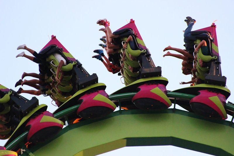 Flippedover Roller Coaster Screaming Fun Speed Roller Coaster Capital Of The World Cedar Point Enjoying Life Feet Many Feet Many Legs
