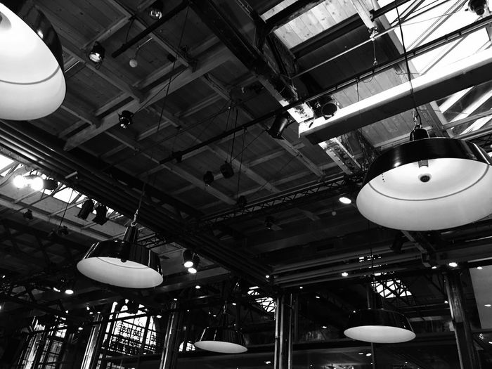 Light Architecture Ceiling Day Hanging Illuminated Indoors  Lighting Equipment Low Angle View No People Pendant Light Technology