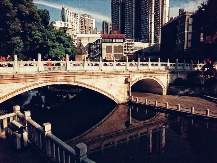 Architecture Travel Destinations Water Riverside Reflection China Canton Street Photography Streetphotography Streetphotography Colors Urbanphotography City Life Streetlife Lensculture Streetphoto XperiaZ5 Sony Xperia Snapshots Of Life Streetphoto_color NEM Street Street Photo Urban Exploration AMPt Community Bridge Bridge - Man Made Structure