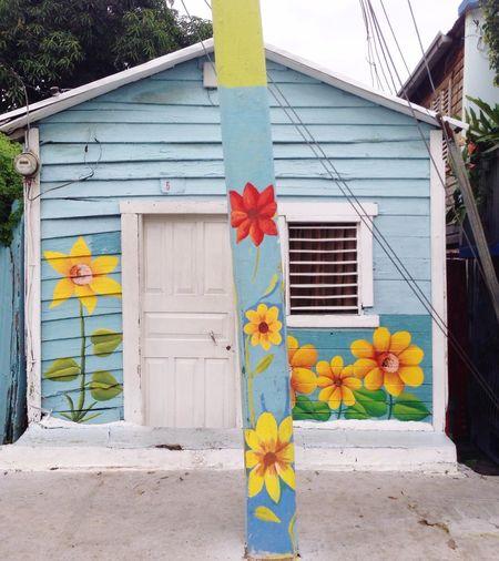 Casita Colores Building Exterior Architecture Cultura Barrio