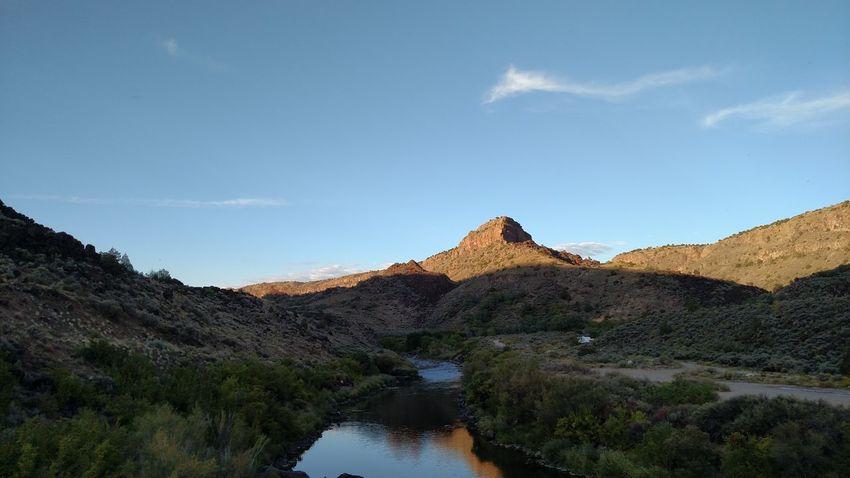 Secret Desert Taos, New Mexico Rock - Object Cloud - Sky Landscape Scenics Mountain Nature Sky Travel Destinations Desert Lake Outdoors EyeEmNewHere An Eye For Travel
