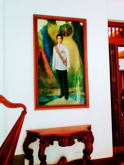 Picture Frame Old-fashioned One Person President Of The Philippines Ilocos Norte, Philippines  Standing Portrait Painted Image Strongman Of Asia Apolakay Marcos The Still Life Photographer - 2018 EyeEm Awards
