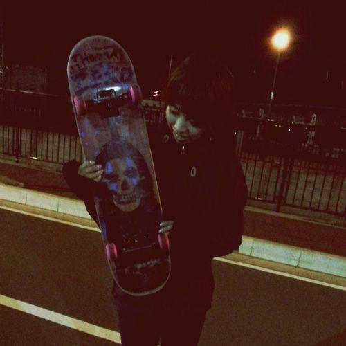 Sk8 Sk8er Girl Sk8 Boarding Skateboarding ななちゃん 少年みたい(/ω\*)