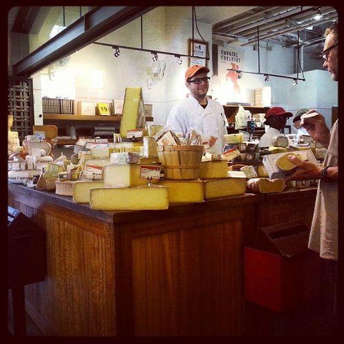 Cheese Heaven Ferrybuilding Sfo gourmet delicatessen 100happydays