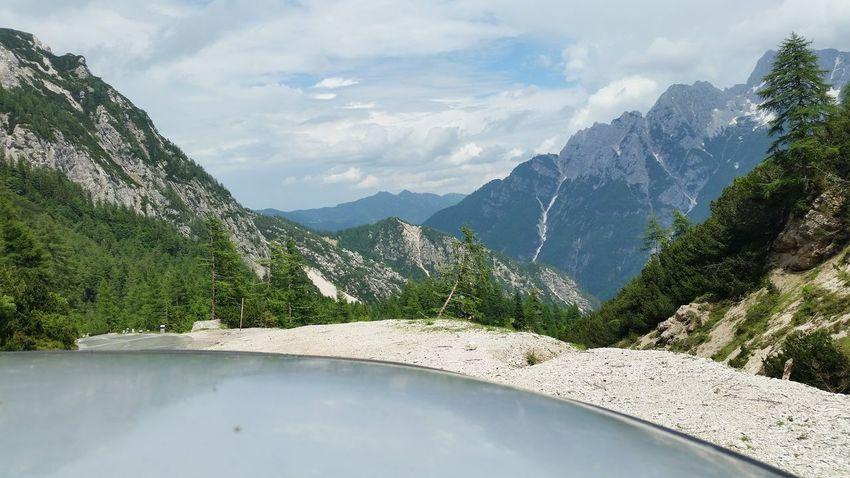 EyeEm Selects Tree Mountain Water Pinaceae Summer Forest Sky Mountain Range Landscape Cloud - Sky