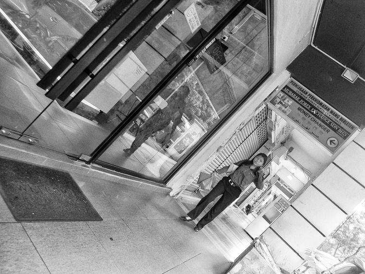 Businesswoman ASIA Monochrome Streetphotography