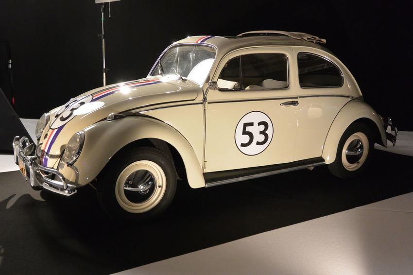 53 Car Choupette Coccinelle German Cars Indoors  Movie Cars Paris International Motor Show 2016 Volkswagen Volkswagen Beetle
