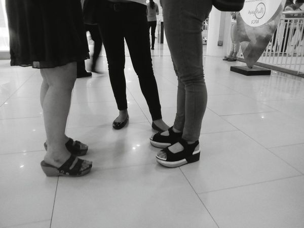 Women Clique Low Section Shoe Human Leg Indoors  Human Body Part People Adults Only Adult Young Adult Monochrome Black And White