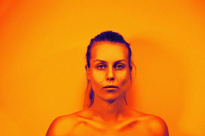 Art Artistic Beautiful Edit Lashafox Light Mood Orange Portrait Of A Friend Portrait Of A Woman Prange Red Studio Studio Shot Tsertsvadze Warm Yellow