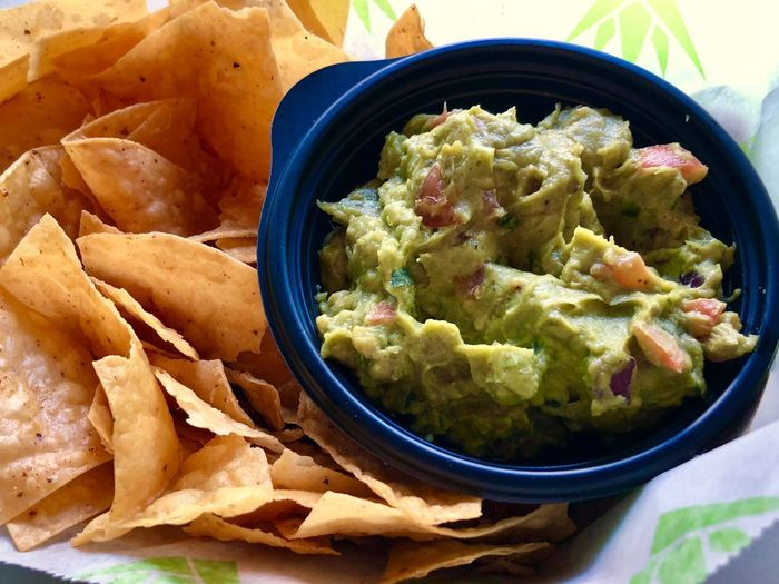 Chips and guacamole Mexican Food Chips And Guacamole Chips And Guac Avocado Guacamole Food Food And Drink Bowl Freshness Wellbeing Healthy Eating Ready-to-eat Serving Size Still Life