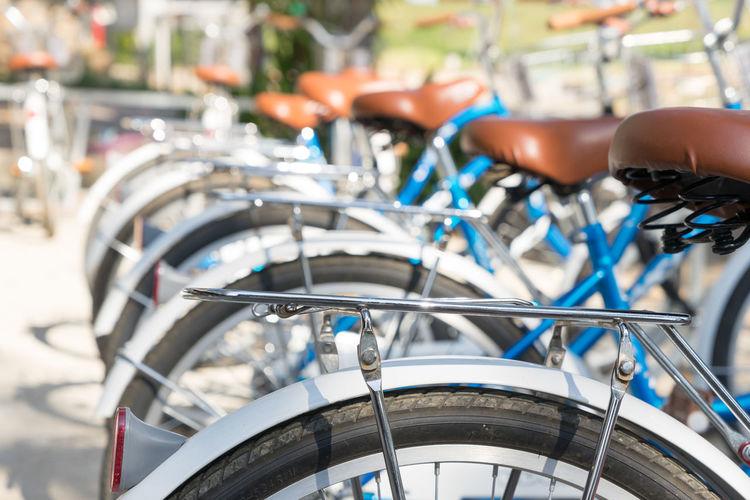 Back of bikes