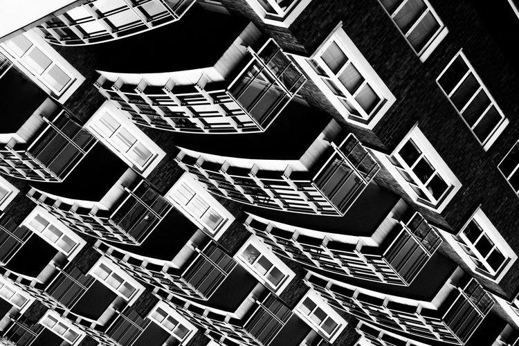 Inception Architecture Built Structure Building Exterior Fujifilm_xseries Full Frame Steps And Staircases Backgrounds No People Pattern Staircase Repetition Building Low Angle View Design Spiral Railing Day Geometric Shape Shape Directly Below