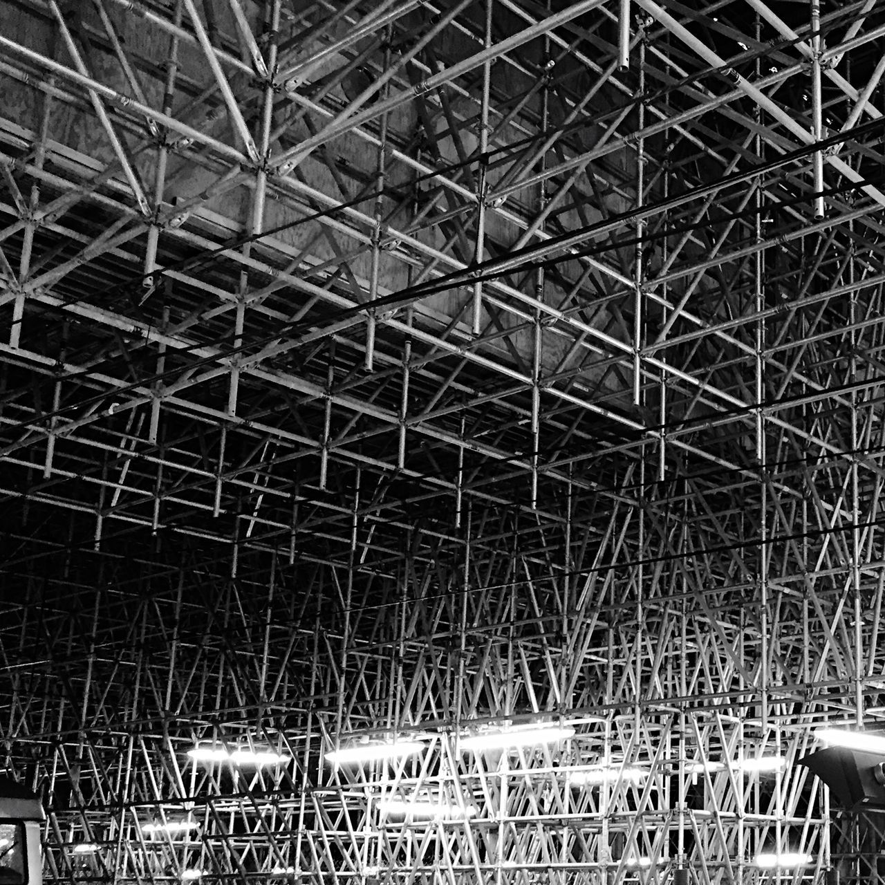 Scaffolding Structure For Support Of Building